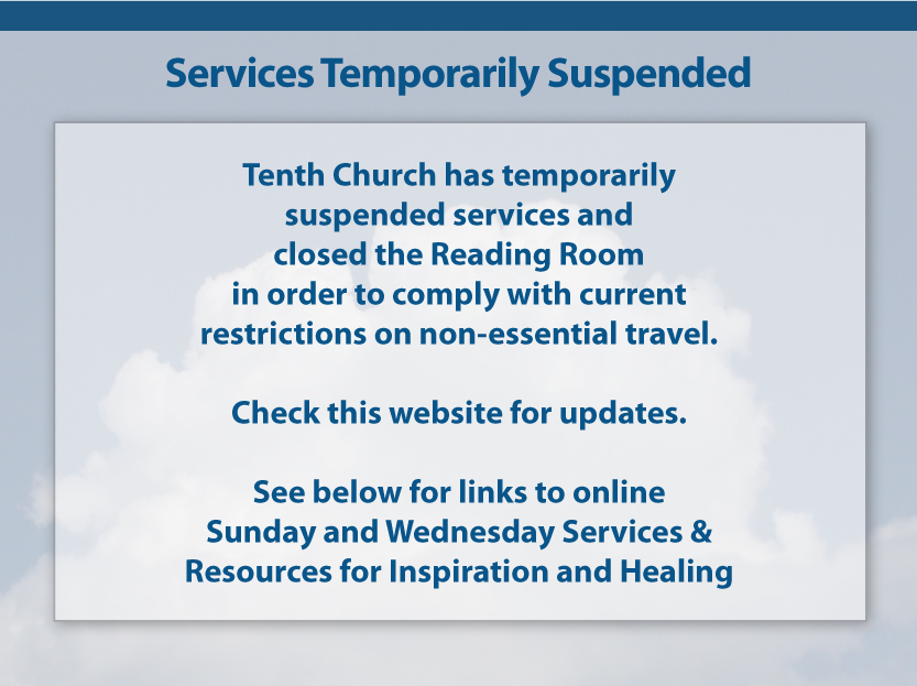 Services Temporarily Suspended
